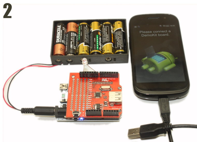 Retired usb host shield for arduino uno mega google adk