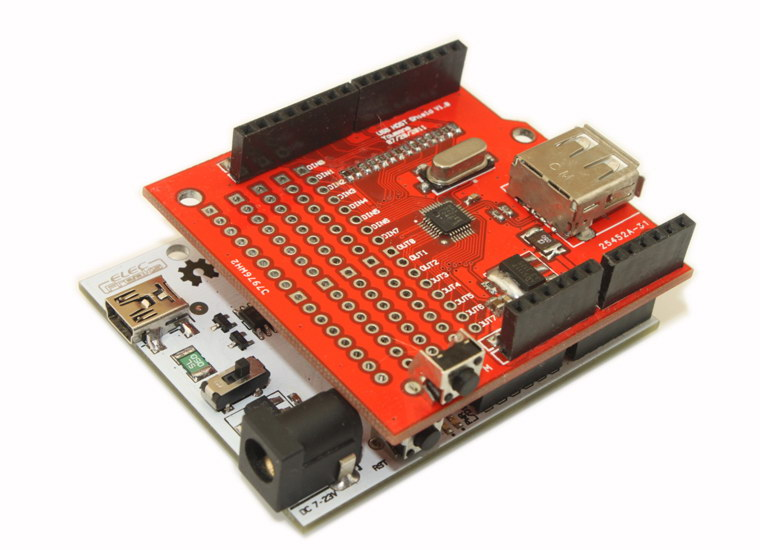Arduino USB Host Shield -- Arduino ADK7