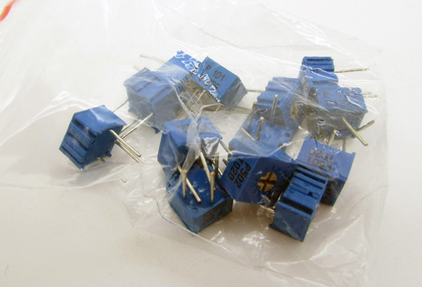 3362 Type Potentiometer Kit 100R-1M 13Kinds1pcs per type