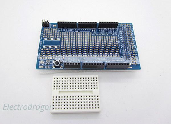 Arduino Mega Sensor & Prototype Extension Board V3