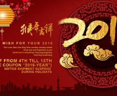 2016 Chinese New-Year Holidays
