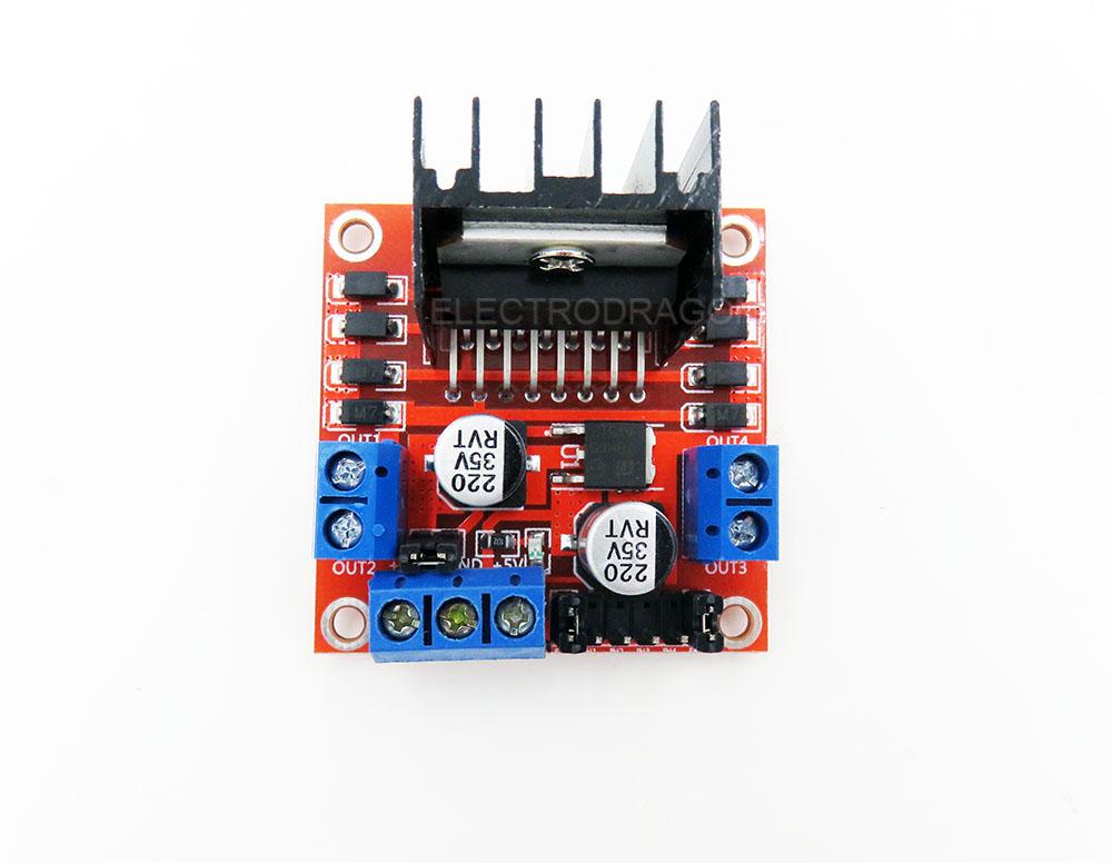 L298n Stepper Motor Driver Board R2 C Arduino Supported Electrodragon