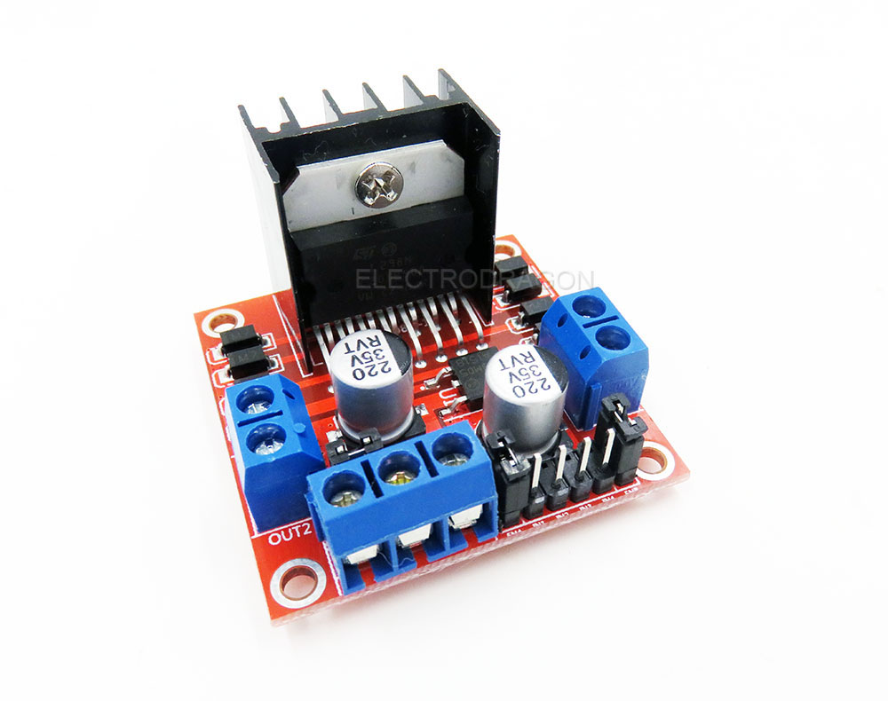 L298n stepper motor driver controller board for arduino manual Arduino motor control board