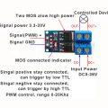 High Power Mosfet Drive Module, PWM Control 02