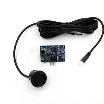 Integrated Ultrasonic Proximity Sensor, Reversing radar, SR04T
