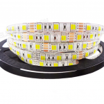 White & Warm White in One LED strip, 5M 01